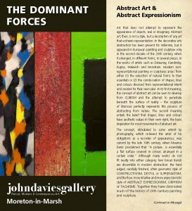 Cover of Abstract Art Brochure